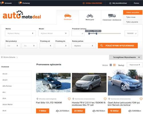 Strona główna portalu automotodeal