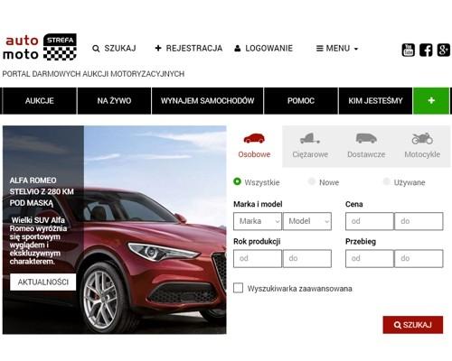 Strona główna portalu automotostrefa