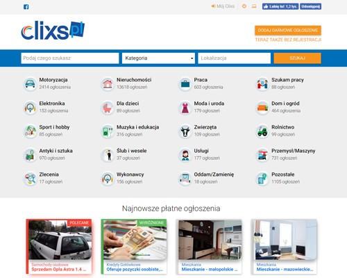 Strona główna portalu clixs