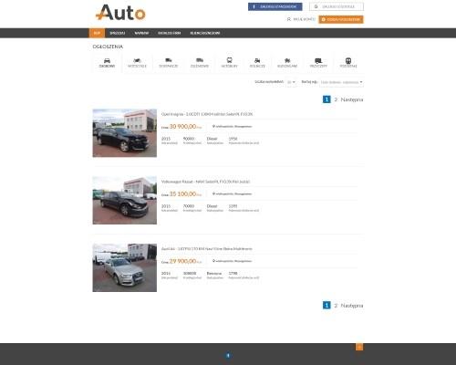 Strona główna portalu plusAUTO