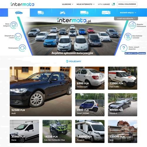 Strona główna portalu intermoto
