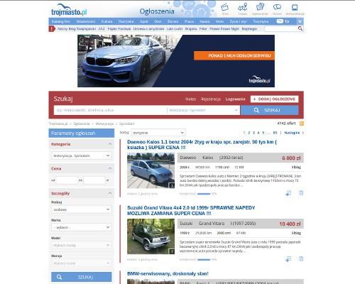 Strona główna portalu Trojmiasto.pl