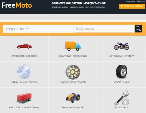 Strona główna portalu freemoto