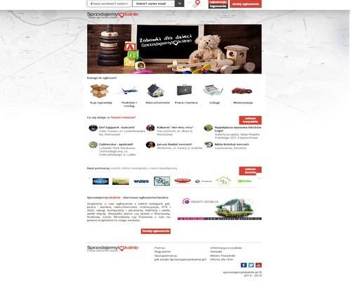 Strona główna portalu sprzedajemylokalnie