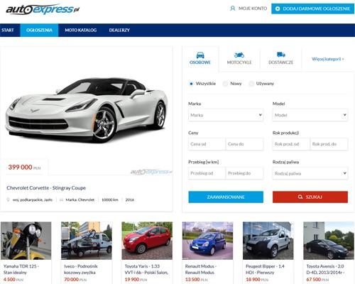 Strona główna portalu autoexpress